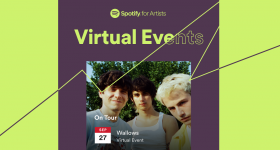 Spotify virtual event for Artists - Beatrising Distribution
